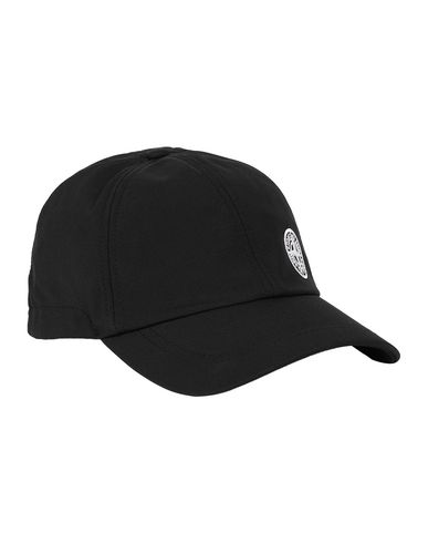 STONE ISLAND 99227 LIGHT SOFT SHELL-R Cap Man Black EUR 115