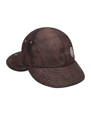 STONE ISLAND 99424 MEMBRANA 3L WITH DUST COLOUR FINISH Cap Man MAHOGANY BROWN EUR 118