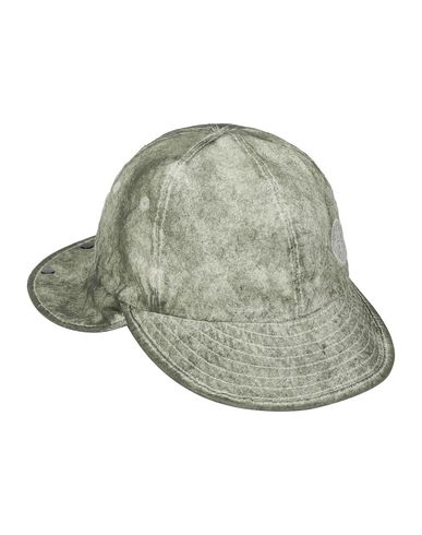 STONE ISLAND 99424 MEMBRANA 3L WITH DUST COLOUR FINISH Cappello Uomo Beige EUR 138