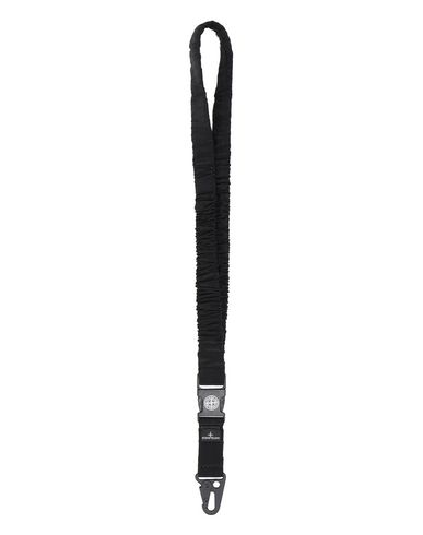 STONE ISLAND 95176 NYLON METAL LANYARD Man Black USD 130