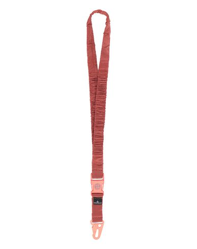 STONE ISLAND 95176 NYLON METAL LANYARD Man Lobster Red EUR 109