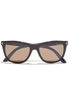 TOM FORD Andrew square-frame acetate sunglasses