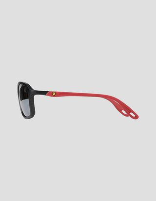 Scuderia Ferrari Online Store - Ray-Ban for Scuderia Ferrari with RB4329M Chromance polarised lenses - Sunglasses