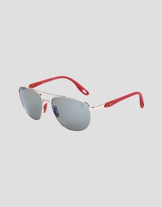 Scuderia Ferrari Online Store - Ray-Ban for Scuderia Ferrari con lentes polarizadas Chromance RB3659M - Gafas de sol