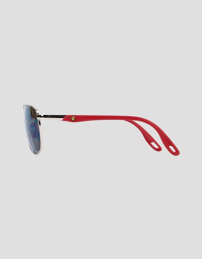 Scuderia Ferrari Online Store - Ray-Ban for Scuderia Ferrari with Chromance polarizing lenses RB3659M - Sunglasses