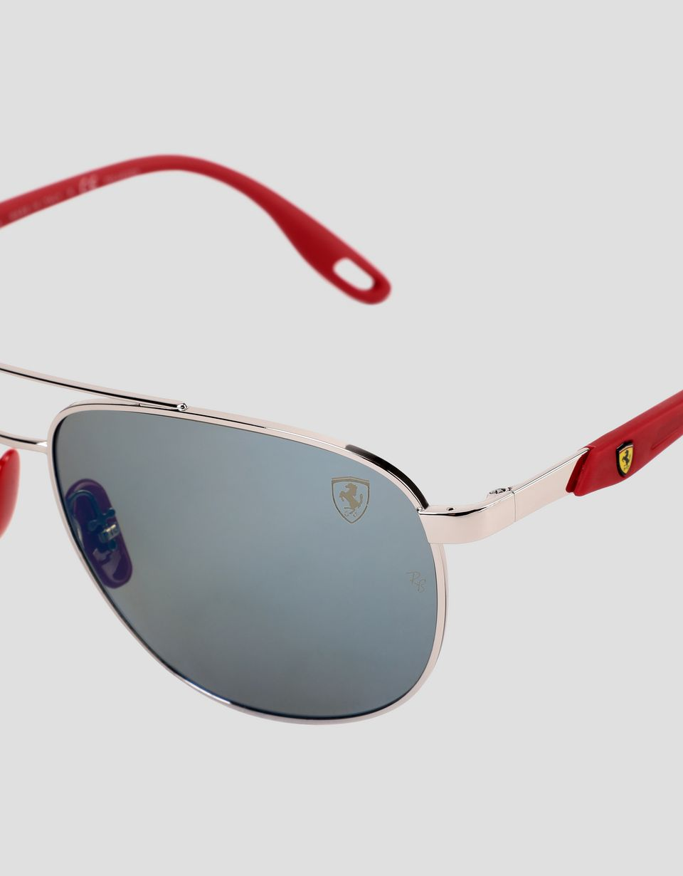 Scuderia Ferrari Online Store - Ray-Ban for Scuderia Ferrari with RB3659M Chromance polarised lenses - Sunglasses