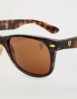 Scuderia Ferrari Online Store - Ray-Ban for Scuderia Ferrari RB2132M - Sonnenbrillen