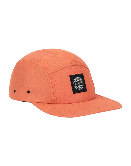 STONE ISLAND 99094 REFLECTIVE WEAVE RIPSTOP Cap Man Orange