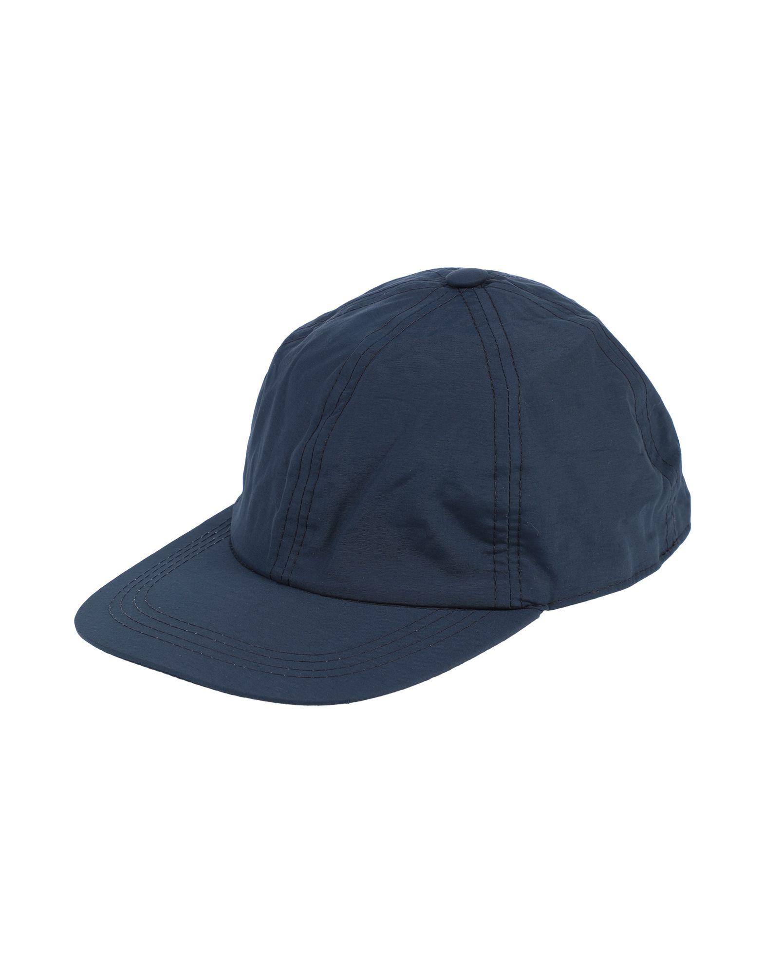 《セール開催中》LOCK & CO. HATTERS メンズ 帽子 ダークブルー 58 ポリエステル 65% / ナイロン 35%