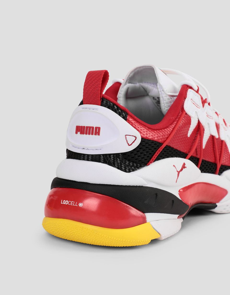 Scuderia Ferrari Online Store - Limited edition Puma SF LIQUID CELL Omega sneakers - Active Sport Shoes