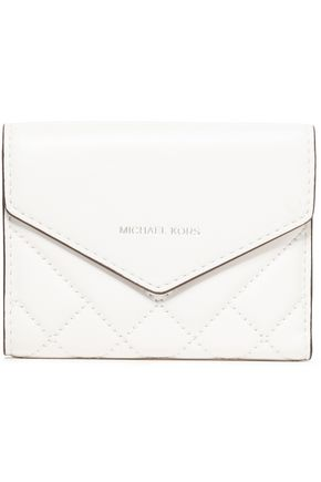 MICHAEL MICHAEL KORS Small quilted leather wallet
