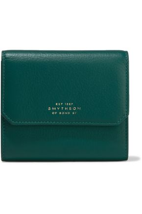 SMYTHSON Berkeley textured-leather wallet