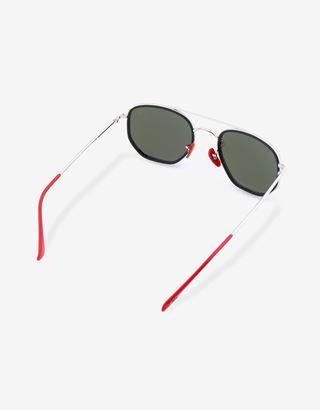 Scuderia Ferrari Online Store - Ray-Ban for Scuderia Ferrari con lenti specchiate RB3748M - Occhiali da Sole