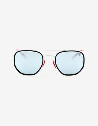 Scuderia Ferrari Online Store - Ray-Ban for Scuderia Ferrari with RB3748M mirrored lenses - Sunglasses