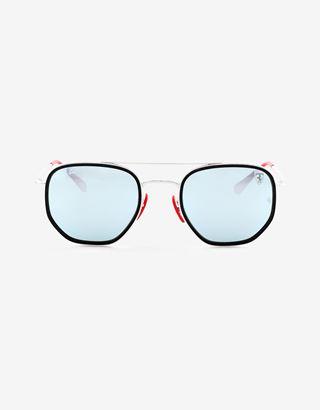 Scuderia Ferrari Online Store - Ray-Ban for Scuderia Ferrari mit verspiegelten Gläsern RB3748M - Sonnenbrillen