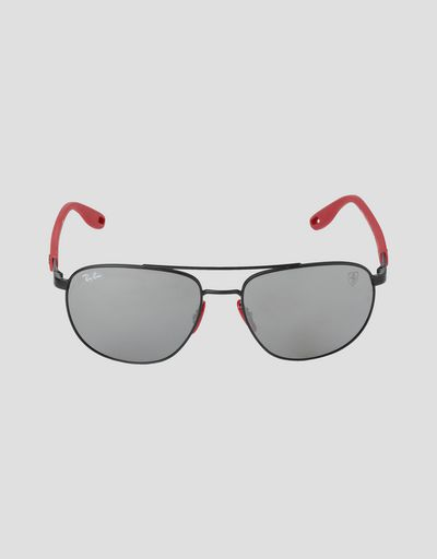 Ray-Ban for Scuderia Ferrari with RB3659M mirrored lenses