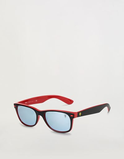 Ray-Ban for Scuderia Ferrari with RB2132M mirrored lenses