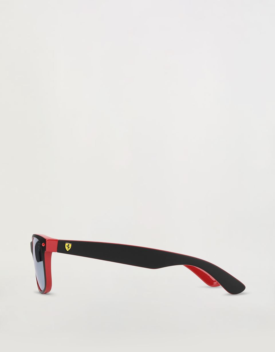 Scuderia Ferrari Online Store - Ray-Ban for Scuderia Ferrari with RB2132M mirrored lenses - Sunglasses