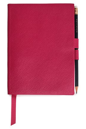 SMYTHSON Soho textured-leather notebook and pencil set