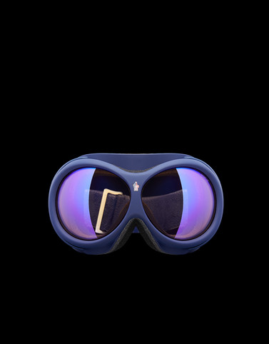 EYEWEAR Dark blue Ski Masks Woman