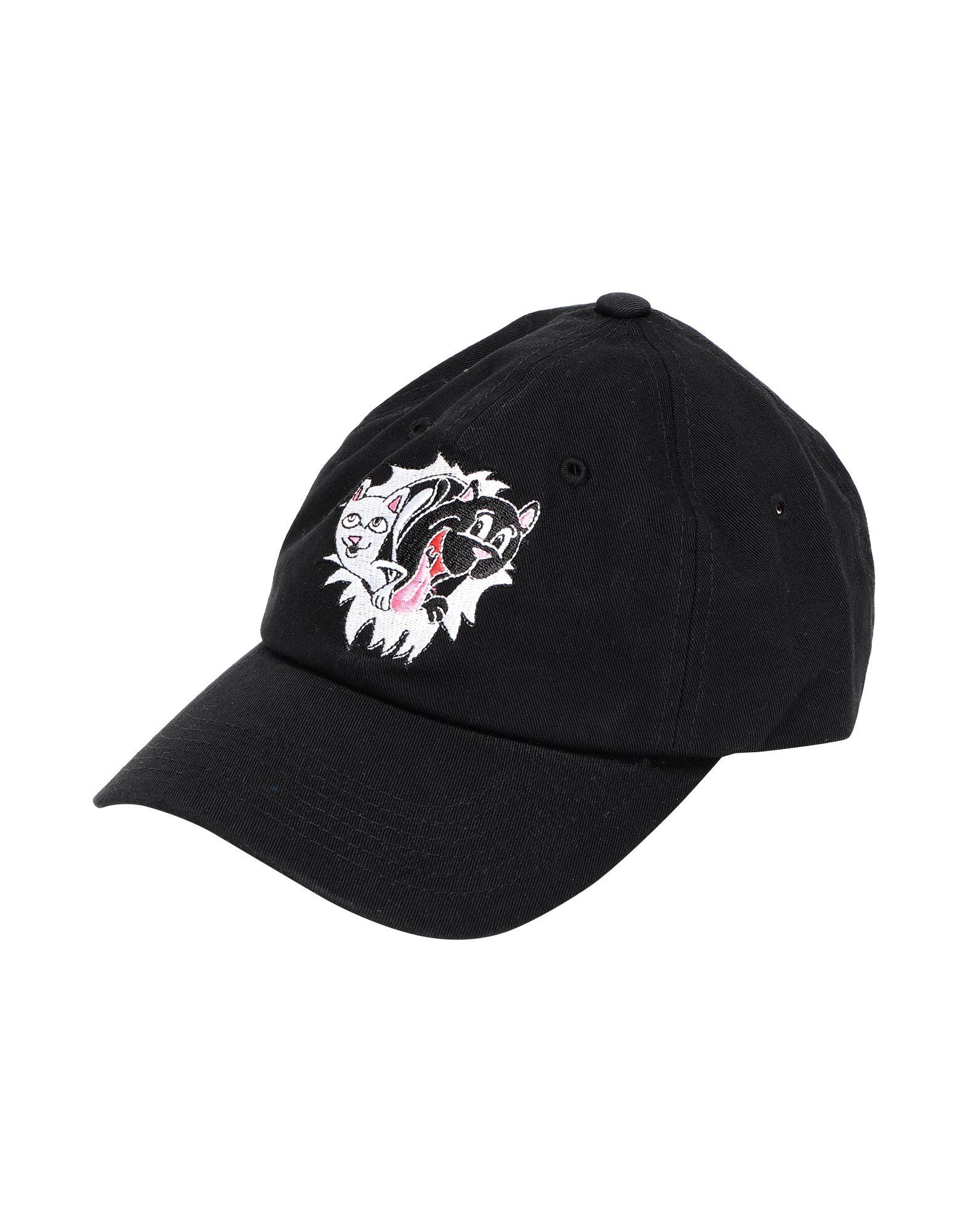 《セール開催中》RIPNDIP Unisex 帽子 ブラック one size コットン 100% Nerm & Jerm Show Dad Hat