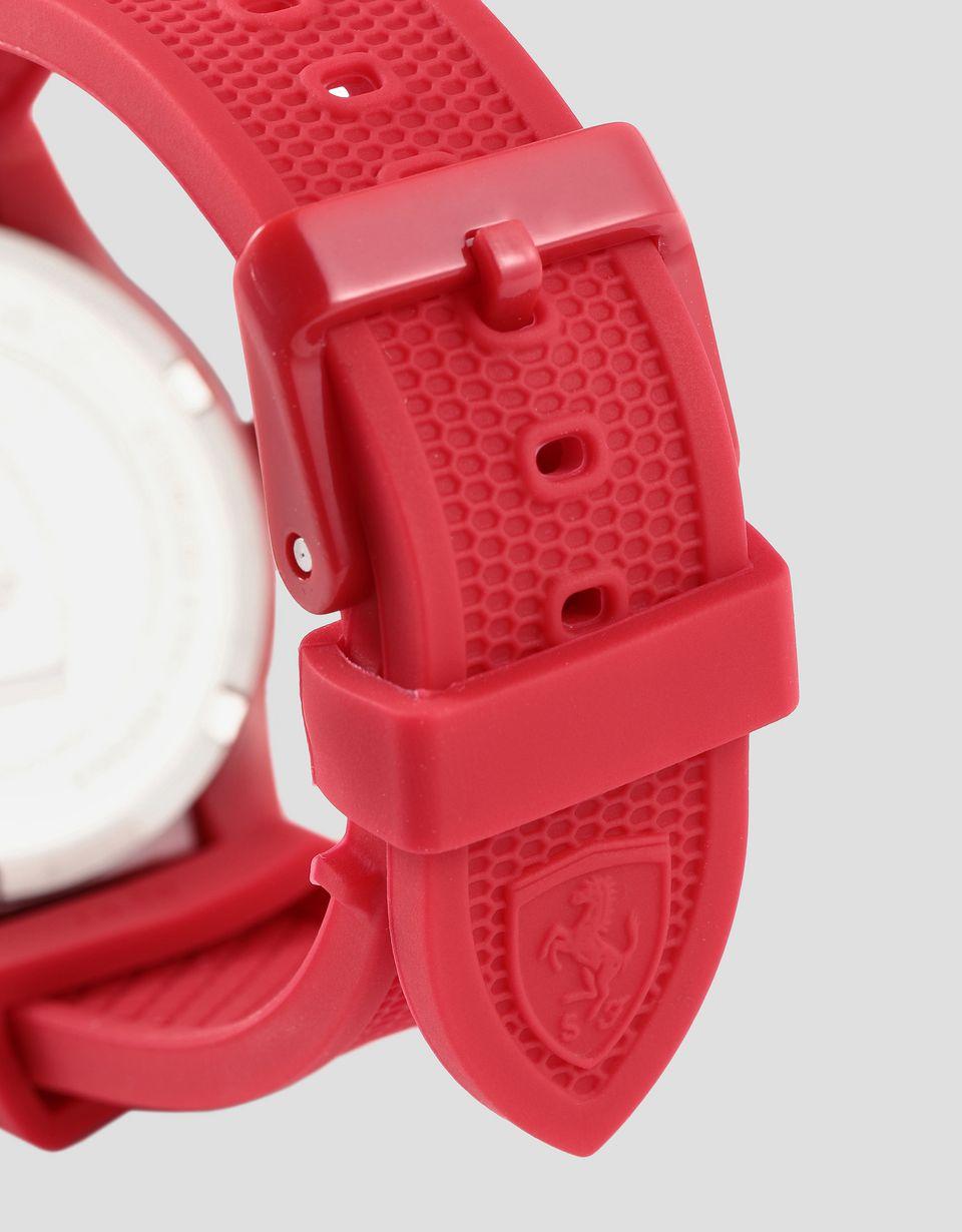 Scuderia Ferrari Online Store - Красные детские наручные часы RedRev с белыми деталями - Кварцевые часы