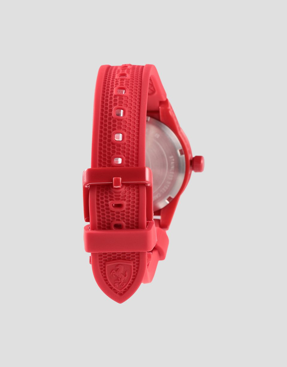 Scuderia Ferrari Online Store - Boys red RedRev watch with white details - Quartz Watches