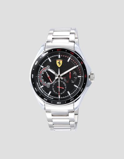 Speedracer multifunction watch with Bburago Ferrari FXX K 1:43 scale model