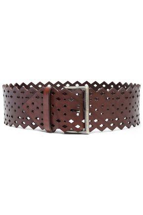 ALBERTA FERRETTI Laser-cut leather belt