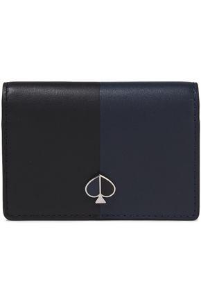 KATE SPADE New York Nicola two-tone leather cardholder
