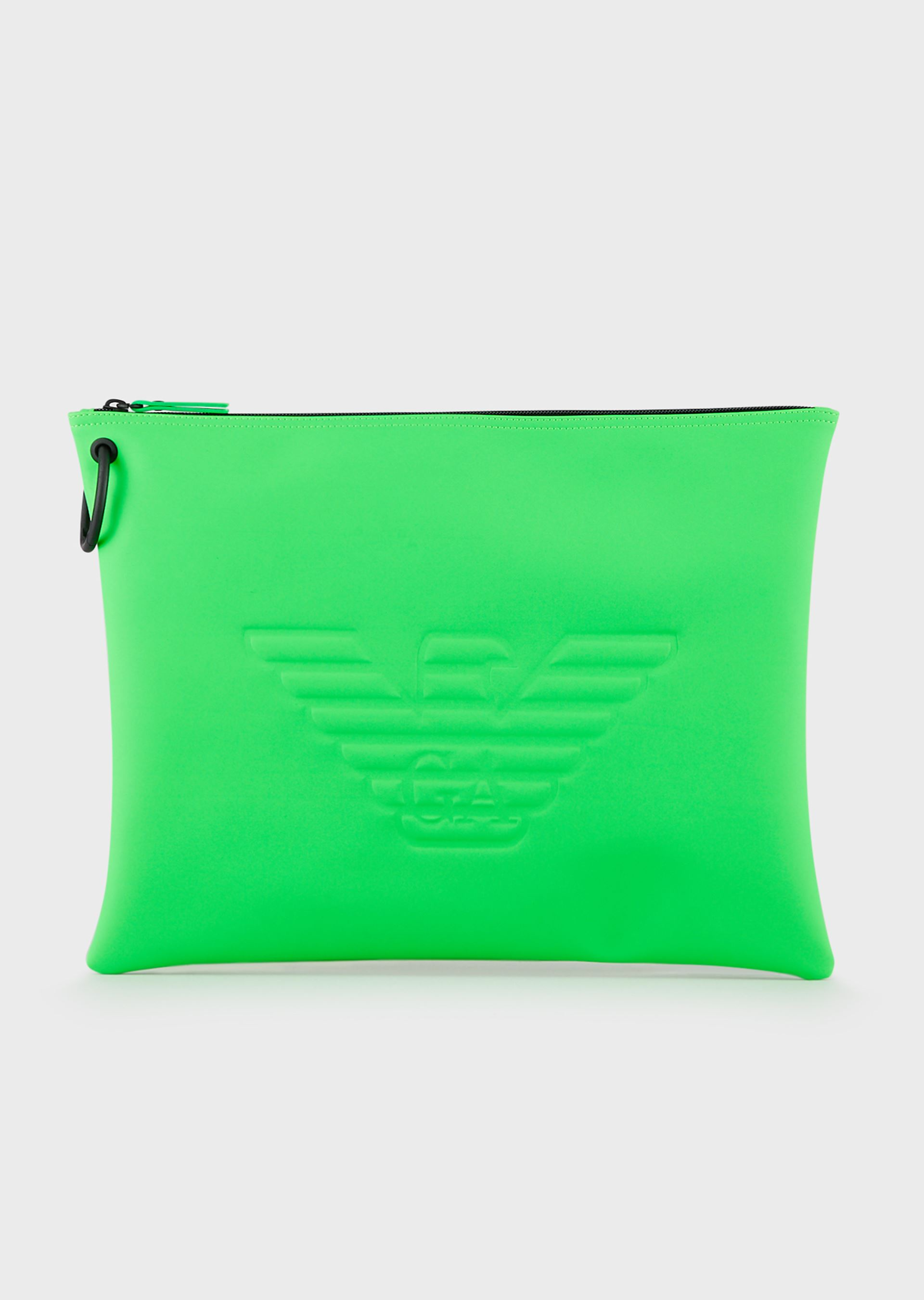 Emporio Armani Travel Accessories - Item 46678722 In Green