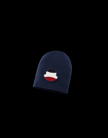 HAT Dark blue Category BEANIES