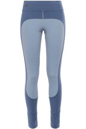 ADIDAS by STELLA McCARTNEY + adidas two-tone printed stretch stirrup leggings