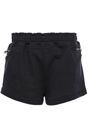 ADIDAS by STELLA McCARTNEY + adidas French cotton-terry shorts