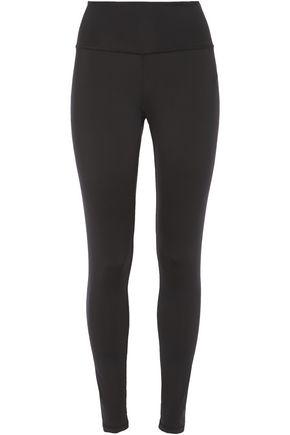 ADIDAS Logo-embellished stretch leggings