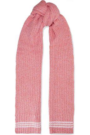 RAG & BONE Marled ribbed wool-blend scarf