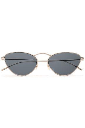 OLIVER PEOPLES Lelaina cat-eye gold-tone sunglasses