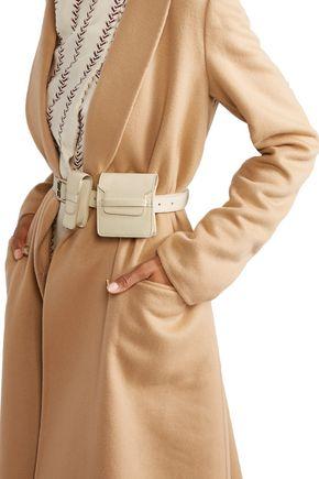 Gabriela Hearst Leather Utility Belt In White