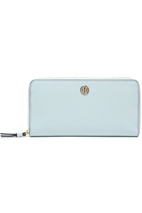 TORY BURCH Textured-leather continental wallet
