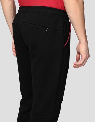 Scuderia Ferrari Online Store - Men's jogging trousers in double knit - Joggers
