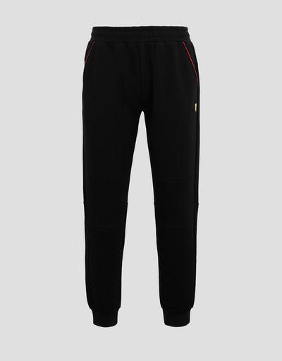 Scuderia Ferrari Online Store - Men's joggers in double knit - Joggers