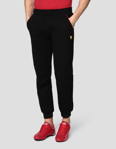 Men's jogging trousers in double knit