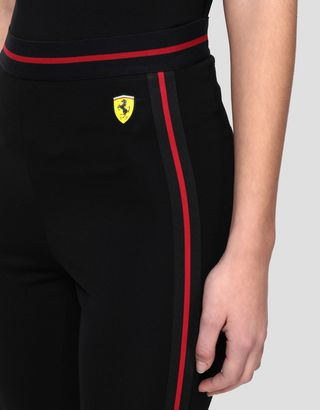 Scuderia Ferrari Online Store - Women's Milano rib leggings - Tights & Yoga Pants