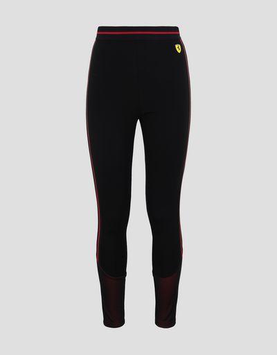 Scuderia Ferrari Online Store - 女士米兰针织贴腿裤 - 长筒袜与瑜伽
