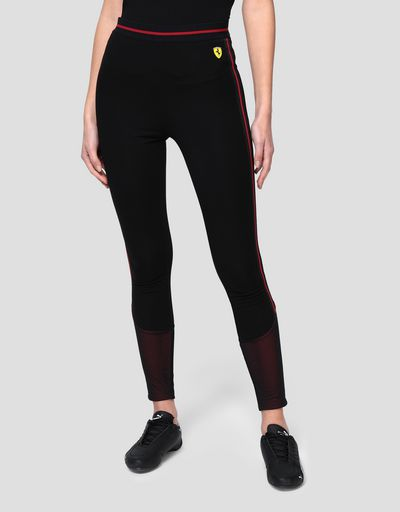 Women's leggings in Milano rib