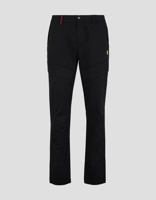 Scuderia Ferrari Online Store - Men's chinos in technical gabardine - 5-pocket-pants