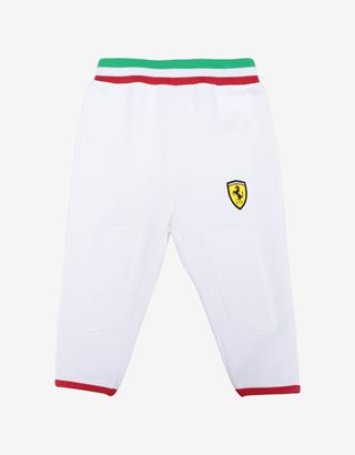 Scuderia Ferrari Online Store - Unisex infant leggings in French Terry - Joggers