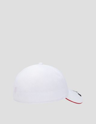 Scuderia Ferrari Online Store - Men's cap with chequered print - Baseball Caps