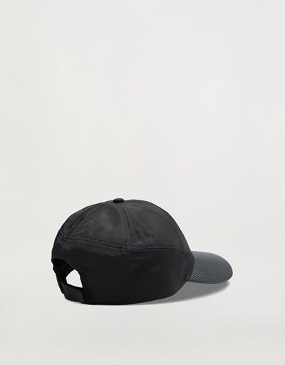 Nylon cap with carbon fibre effect