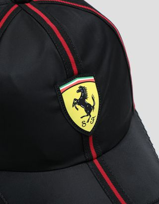 Scuderia Ferrari Online Store - Satin cap with piping - Baseball Caps